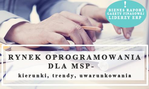 Rynek oprogramowania dla MSP – kierunki, trendy, uwarunkowania.
