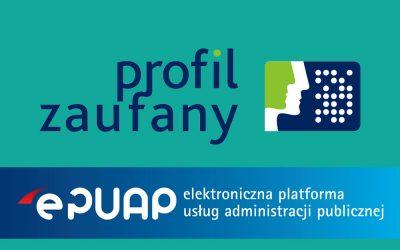 Podpisywanie elektroniczne sprawozdań finansowych oraz innych dokumentów za pomocą profilu zaufanego EPUAP